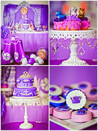 kara u0027s party ideas sofia the first birthday party princess