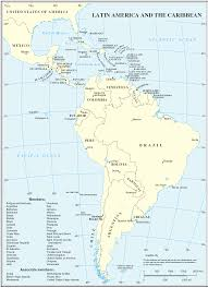 Blank South America Map Latin America Map Map Of Latin America