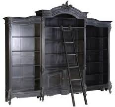 Large Ladder Bookcase Best 25 Bookcase With Ladder Ideas On Pinterest Library Ladder