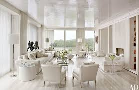 white livingroom 13 white living rooms photos architectural digest