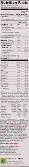 Nutrition Facts Label Worksheet Edition Kellogg U0027s Flavor Just In Time