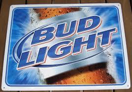 bud light tin signs budweiser