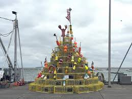lobster pot tree rises in plymouth ma
