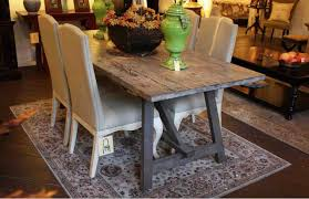 reclaimed wood dining room table dining table grey rustic dining table pythonet home furniture