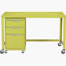 Computer Desk With File Cabinet by Cb2 Go Cart Desk U0026amp File Cabinet Aptdeco