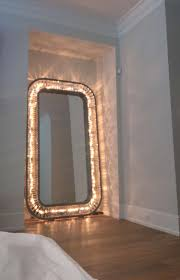 full length lighted wall mirrors mirrors inspiring floor mirror with lights floor mirror with