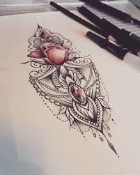 mandala tattoo zum aufkleben 310 besten tattoos bilder auf pinterest mandala tätowierung
