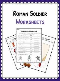 roman soldier facts u0026 worksheets kids study resource
