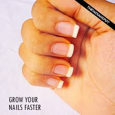 natural ways to grow your nails faster nail growth brittle