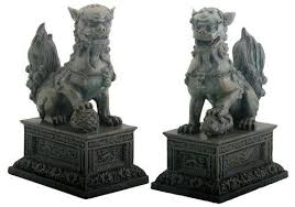 foo dog bookends foo dogs collection on ebay