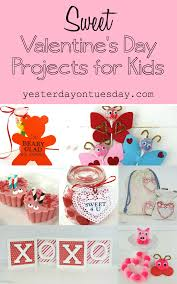 sweet valentine u0027s day projects for kids yesterday on tuesday