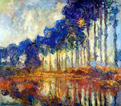 oval office paintings bofransson les peupliers automne claude monet painting