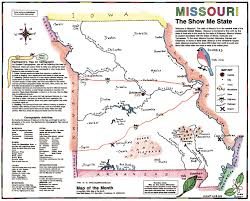 Missouri State Map Best Maps For Your Grade Level Maps For The Classroom