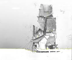House Architecture Drawing 473 Best Architectural Drawings Images On Pinterest Architecture