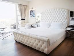 Tufted Headboard And Footboard Fancy Tufted Headboard And Footboard San Marcos King Bed