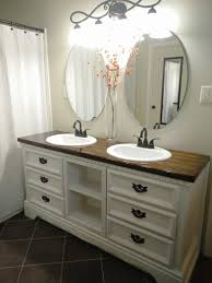 diy dresser turned into double sink vanity bathrooms