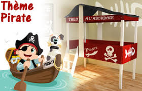 chambre garcon pirate deco pirate décoration chambre enfant bebe pirate lit stickers