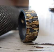 rustic mens wedding bands rustic mens wedding band mens wedding bands handcrafted with