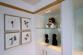 Art Cabinets Black Steel White Lacquer Sitting Room Remodel Wrightworks Llc In