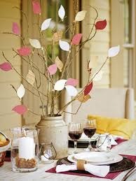 home made fall decorations best thanksgiving crafts for kids ideas table decorations diy fall