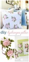 diy home decor hydrangea throw pillow today u0027s creative life