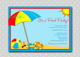 ocean themed birthday party invitations addnow info