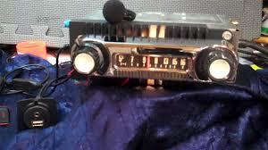 1966 ford f100 pickup truck original am radio youtube