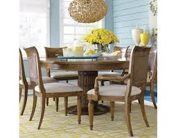 Bassett Dining Room Set by Pelham Bay Round Dining Table By Bassett Sylvan Furniture
