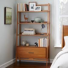 mid century bookshelf wide west elm au