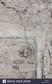 the subtle outline of the fireplace in the wall of what is now