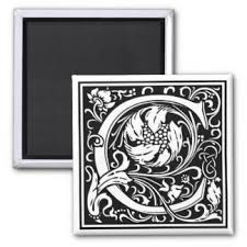 decorative letter refrigerator magnets zazzle