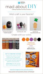 mad about diy 3 halloween ideas from martha stewart crafts