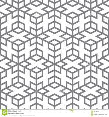 vector pattern geometric design from gray lines royalty free