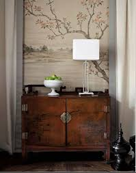 chinese home decor chinese house decor antique dresser and tapestry oriental