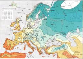 Garden Planting Zones - bartels andreas usda hardiness zones in europe from