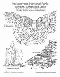 national parks petrified forest geography worksheets and