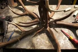 How To Make Deer Antler Chandelier How To Make A Antler Chandelier And Unique Ideas With Fake Deer