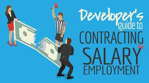 software developer u0027s guide to contracting versus salary employment