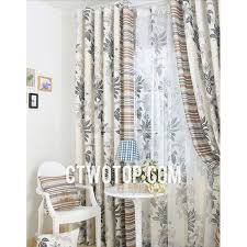 Grey Beige Curtains Custom Leaf Affordable Beige And Grey Buy Soundproof Curtains