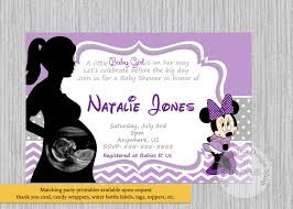 purple and grey baby shower invitations printed or digital lilac minnie mouse baby shower invitations