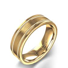 gold wedding rings for men men s wedding ring in 14k yellow gold