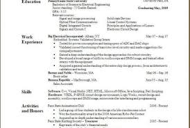 sample resume builder how to build a resume best business