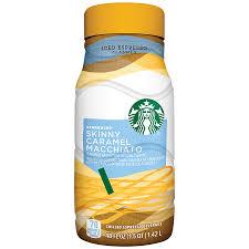 Sample Resume Objectives For Grocery Store by Starbucks Skinny Caramel Macchiato Iced Espresso 48 Fl Oz