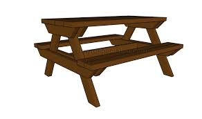 kids picnic table plans how to build a kids picnic table picnic table plans pinterest