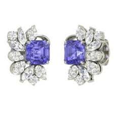 tanzanite earrings emerald tanzanite earrings emerald cut tanzanite earrings