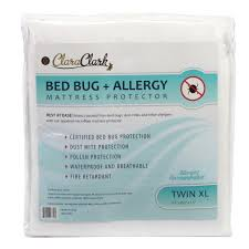 clara clark bed bug allergy waterproof mattress protector