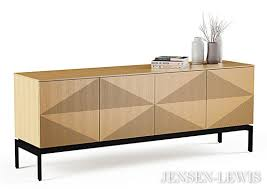 credenza table bdi zona media credenza 8859 lewis new york furniture