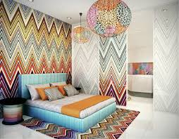 Graphic Flame Stitch Pattern Getting Graphic With Your Interiors - Missoni home decor