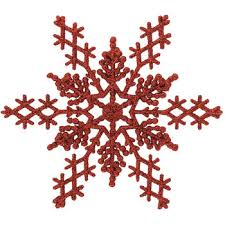 glitter snowflake ornaments large hobby lobby 6507065