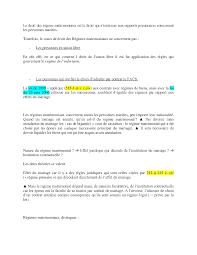 annulation de mariage notes sur le droit des régimes matrimoniaux 3 partie docsity